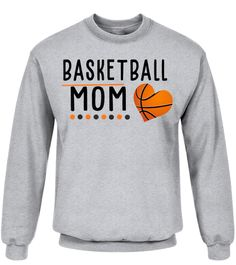 Womens Basketball Mom Cute Mother's Day Gifts T-Shirt (Premium Sweater Unisex - Sport Grey) #drinkingUnderTheFullMoon #drinkinggamesforgamers #drinkinghorsemountain stop drinking, partying drinking, drinking tea, back to school, aesthetic wallpaper, y2k fashion Cute Mothers Day Gifts, Basketball Mom, Gifts For Wine Lovers, Drinking Tea, Unisex, Wallpaper, School, Grey, Sweatshirts