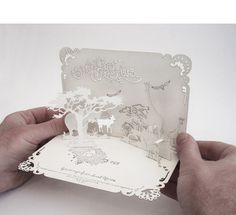 South African Born, London Based Designer Johan De Lange (lazer Cut, Pop Up  Invitations!