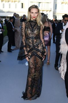 Natasha Poly - 2016 Cannes Film Festival, amfAR gala