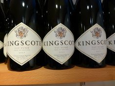 Kingscote Vineyards have 3 new wines on sale - Bacchus, Bacchus Chardonnay and Fat Fume.  Visit the vineyard or pick up stock from Wine Discoveries in Forest Row or Market Square, E Grinstead. www.kingscoteestate.com Bacchus, Tea Cakes, Wonderful Places, Wines, Vineyard, Unique Gifts, Christmas Gifts, Fat, Bottle