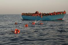 180 dead in migrant boat disaster in Mediterranean: survivors Boat, World, Building, Outdoor Decor, Travel, Syria, Pictures, The World, Viajes