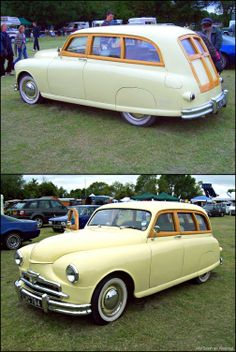 This car started life as a 1948 Standard Vanguard Phase Estate. The car here… Triumph Auto, Automobile, Woody Wagon, Cars Uk, Station Wagon, Old Trucks, Old Cars, Motor Car, Volvo