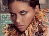 Адриана Лима (Adriana Lima) в фотосессии для журнала «Vogue»