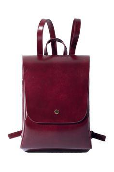 Vintage Leather City Backpack Travel Bag 2017