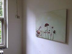 Ellen Grote Beverborg, Onkruid, 2014 acryl doek medium 50 x 70 cm