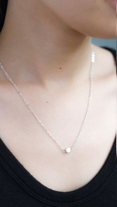 Single Pendant Necklace – pasteldress