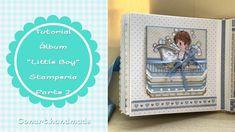 """Álbum bebé """"Little boy"""" de Stamperia. Parte 2"""