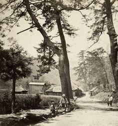 Tokaido, Japan. 1870's, Japan, by photographer Felice Beato