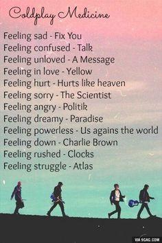 Coldplay Medicine | #playlistoftheday |
