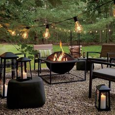 Backyard Patio Designs, Small Backyard Landscaping, Fire Pit Backyard, Landscaping Ideas, Patio Ideas, Backyard Pools, Backyard Projects, Cool Backyard Ideas, Backyard Ideas For Small Yards