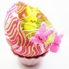 Sew Can Do: Guest Post: Fabric Maché Eggs by the decorated cookie!