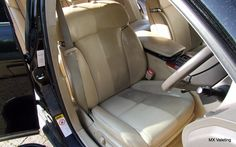 This shows the dramatic difference very dirty and clean leather. This car is a #lexus GS300