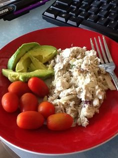 Paleo Waldorf Tuna Salad...I'll substitute shredded chicken for the tuna.