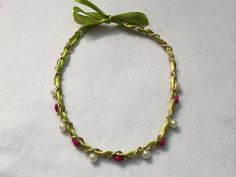 How to Make Beautiful Necklace with Ribbon