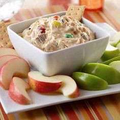 Taste this delicious dip either as an appetizer, dessert or as a sweet treat any time!