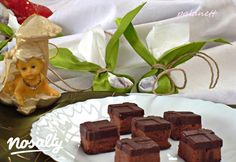 Gesztenyés szaloncukor | Nosalty Pudding, Place Card Holders, Homemade, Chocolate, Cake, Desserts, Recipes, Food, Advent