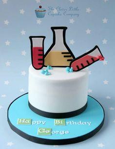 Chemistry or breaking bad cake