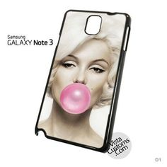 Marilyn Monroe Buble Gum Phone Case For Apple, iphone 4, 4S, 5, 5S, 5C, 6, 6 +, iPod, 4 / 5, iPad 3 / 4 / 5, Samsung, Galaxy, S3, S4, S5, S6, Note, HTC, HTC One, HTC One X, BlackBerry, Z10