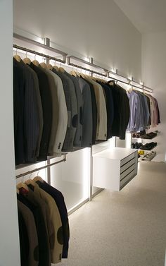 Example dressing room by ANYWAY doors, via Flickr Indirect lighting!