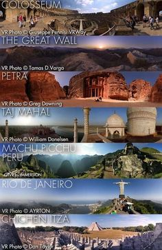 want to see all 7 world wonders!
