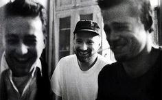 "IlPost - Edward Norton, David Fincher e Brad Pitt sul set di ""Fight Club"" via imgur - Edward Norton, David Fincher e Brad Pitt sul set di ""Fight Club"" via imgur"