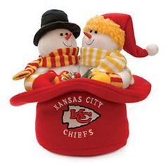 Kansas City Chiefs Snowmen Top Hat Set Visit our store for more: www.theportszoneri.com