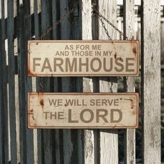 Me And My Farmhouse Metal Sign