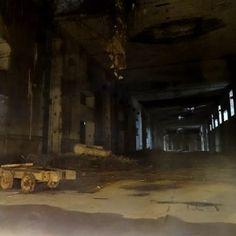 Bunker Valentin - abgesperrter Bereich