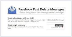 Delete all FB Messages.....