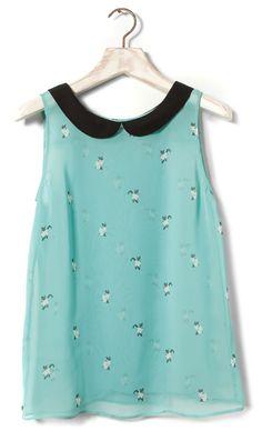 Camisa de gaticos del pull
