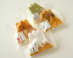 【煎屋 手焼きせんべい富士山 6枚入箱】【包装】【のし】Mt Fuji Rice Crackers #design #Japanese
