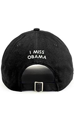 ed2a930a936d8 Trendy Apparel Shop I Miss Obama (Back) Embroidered 100% Cotton Dad Hat Dad