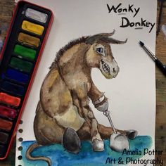 My Fb, Donkey, Tree Branches, Amelia, Art Photography, Moose Art, Art Pieces, Illustration, Artwork