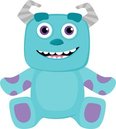 Minus - Say Hello! Sully Monsters Inc, Monsters Ink, Disney Monsters, Monster Inc Birthday, Monster Inc Party, Boy Baby Shower Themes, Baby Boy Shower, Monsters Inc Baby Shower, Monster Under The Bed