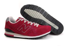 New Balance Running Shoes Red Mens Classics Sneakers 996