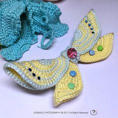 Crochet Fairy Doll Wings