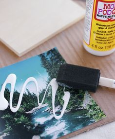 Instagram coasters DIY