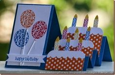 kids cards, side step card, custom cards, Melissa Buecher, Stampin Up! demonstrator cased from Mini Hornberger,