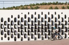 CÚMUL turns salvaged tires into a surreal urban art installation | Inhabitat - Sustainable Design Innovation, Eco Architecture, Green Building