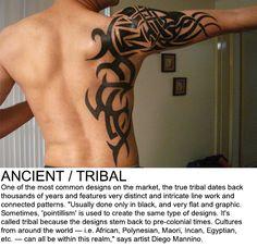 Ancient / Tribal tattoos
