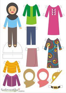 mrs. Tiananana: DIY Paperdoll
