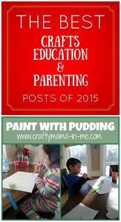 The Best Crafts, Education & Parenting Posts of 2015 - Crafty Mama in ME! Fun Crafts, Crafts For Kids, Help Teaching, Good Parenting, Kids House, Something To Do, Good Things, Crafty, Education