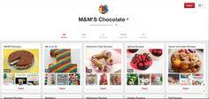 M&M's zorgt ervoor dat geïnteresseerden telkens nieuwe, leuke ideeën kunnen opdoen. Zo plaatsen ze onder andere gemakkelijke gerechtjes. Een goed communicatief voorbeeld dus!  https://www.pinterest.com/mmschocolate/