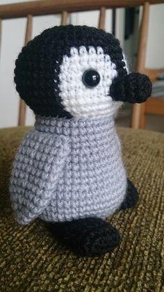 ペンギン 図書館員のあみぐるみ日記