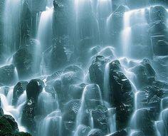 Ramona Falls and Velvia, Clackamas County, Oregon