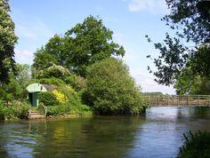 River Test near Southampton.