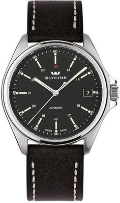 Glycine Watch Combat 6 Automatic 36mm #bezel-fixed #bracelet-strap-leather #brand-glycine #case-depth-10-45mm #case-material-steel #case-width-36mm #date-yes #delivery-timescale-1-2-weeks #dial-colour-black #gender-mens #luxury #movement-automatic #official-stockist-for-glycine-watches #packaging-glycine-watch-packaging #style-dress #subcat-combat #supplier-model-no-3916-19-lb9b #warranty-glycine-official-2-year-guarantee #water-resistant-50m