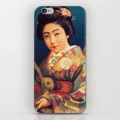 Vintage Japanese Beer Ad - Samurai Kamishimo Iphone Skin by Yesteryears - iPhone 8#beer #iphone #japanese #kamishimo #samurai #skin #vintage #yesteryears Iphone Skins, Iphone 8, Iphone Cases, Japanese Beer, Vintage Japanese, Geisha Hair, Samurai, Original Art, Iphone Case