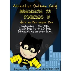 Birthday Party invitation for boys super hero brithday party theme , super hero flying up in the sky with robe for text    This is a blank template  ready to download as soon as purchased for personal use or commercial use , where you can edit and place your own text