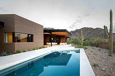 Modernes Einfamilienhaus mit Hang zum Minimalismus